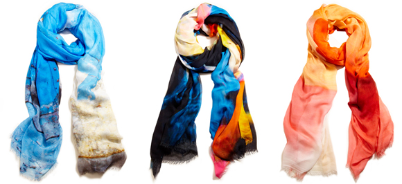 sheila johnson looped scarves