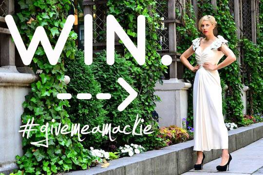 win a vintage bob mackie dress