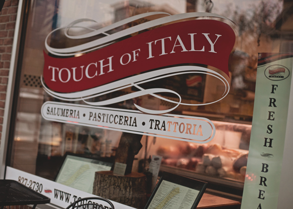 italian specialty store storefront