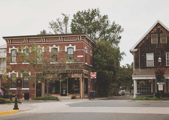 historic downtown beach town