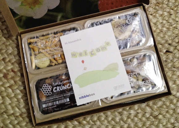 graze subscription snack box