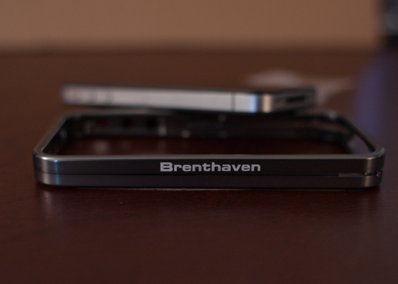 the brenthaven armor case from a side view