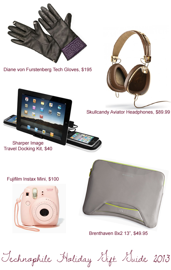 technophile holiday gift guide