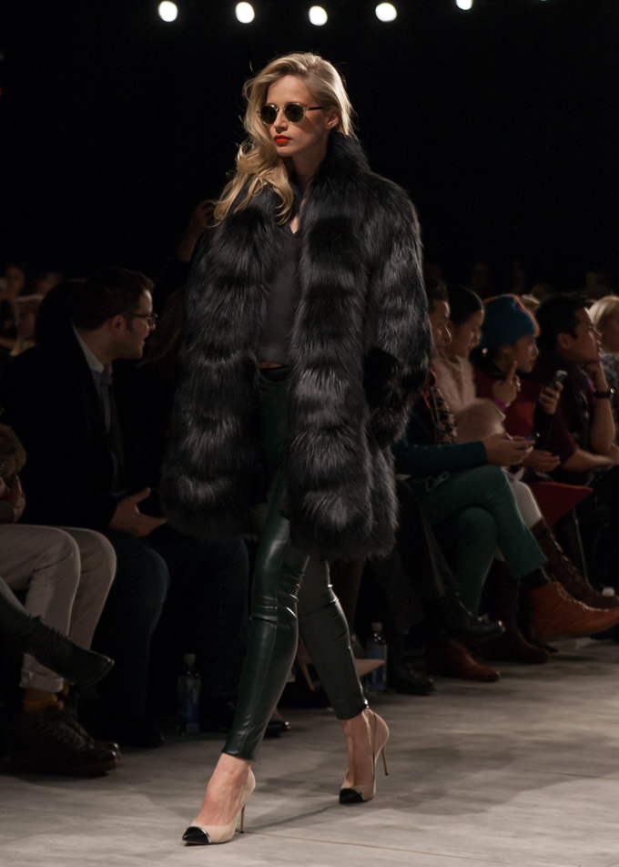 Georgine Fall 2014 | New York Fashion Week | Delayed Missives lifestyle blog