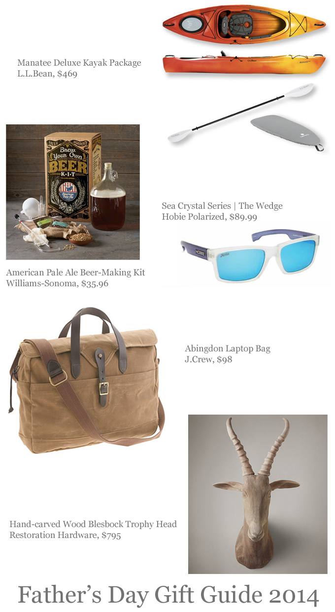 father's day gift guide | june 2014 | father's day gift ideas