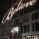 Believe Holiday Decorations at Macy's 34th Street New York